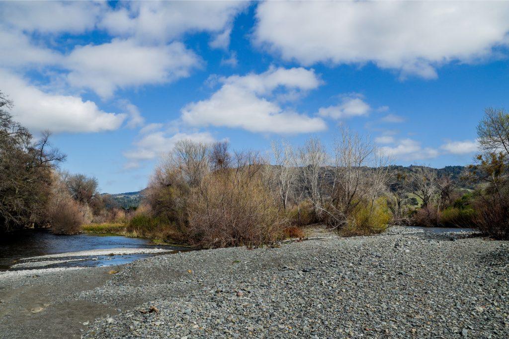 Sulphur Creek meets Russian River on Bellavista Ranch