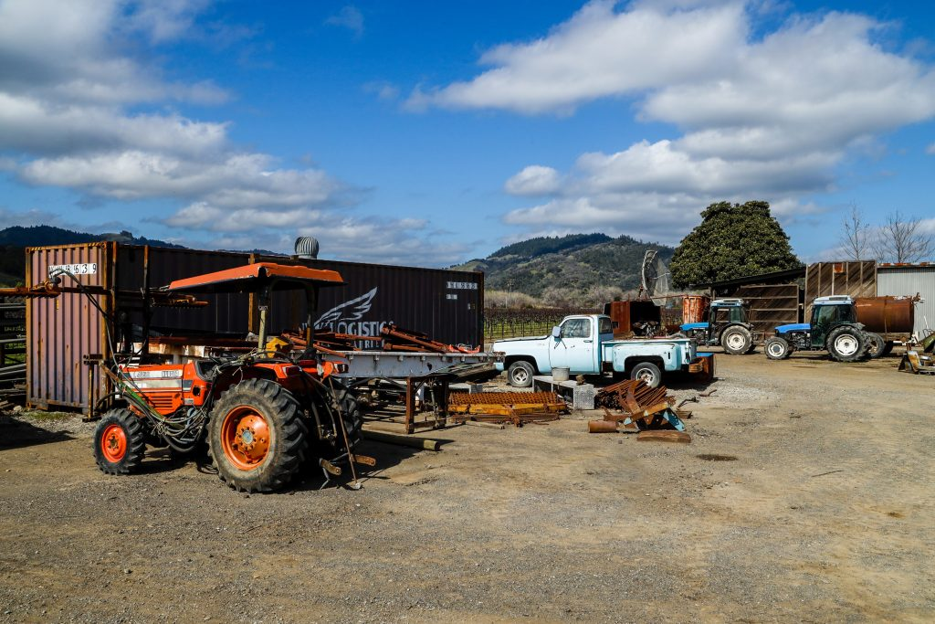 Bellavista Ranch tractor and pickup