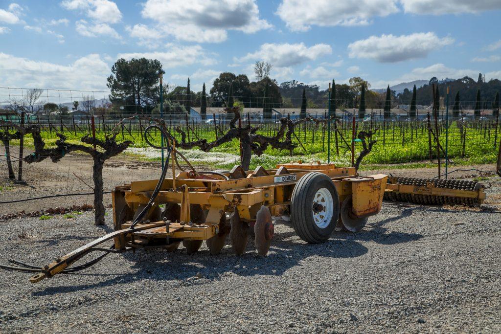 Bellavista Ranch Vineyard Equipment